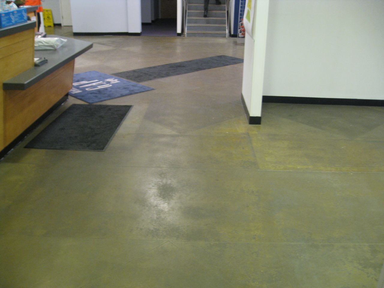 And if you want to try before you buy we can carry out a for Concrete floor cleaning products