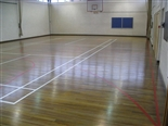 The real appearance of a wooden floor is back, it is safer floor for sports activities and it can also be cleaned effectively.