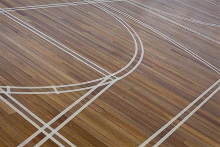 Wooden Sports Hall Floor Restoration Amp Linemarking