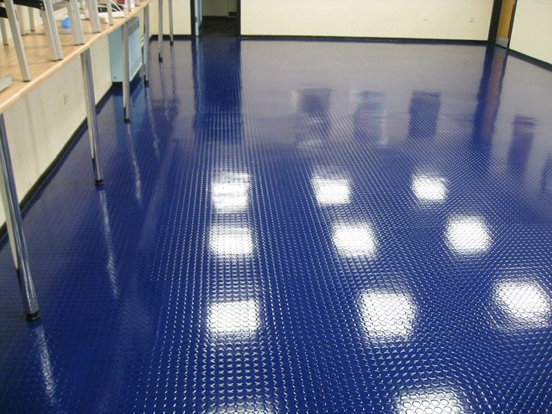 Rubber Floor Restoration Rubber Floor Restoration