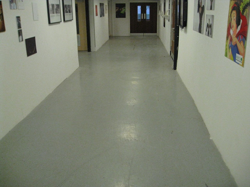 Coventry University Art Amp Design Vinyl Corridors