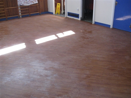 Amtico Vinyl Restoration Eastern Green Junior School