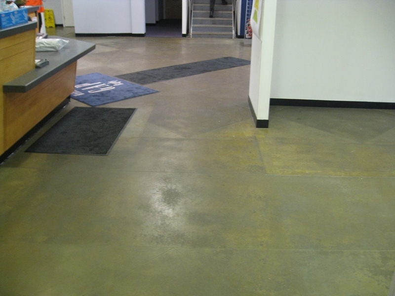 Commercial concrete floor cleaning concrete polishing and for Best cleaner for polished concrete floors