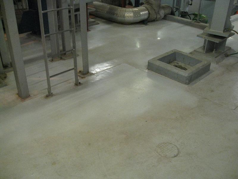 Concrete floor cleaning scottish power for Concrete floor maintenance