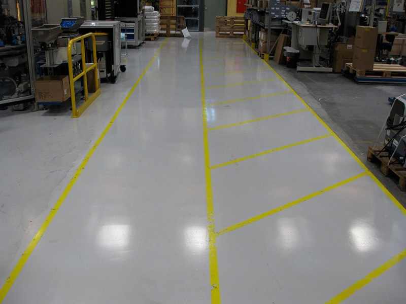 Polyurethane Floor Cleaning Amp Sealing In Factory