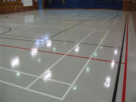 Deep Cleaning Linemarking Amp Sealing Sports Hall Finham