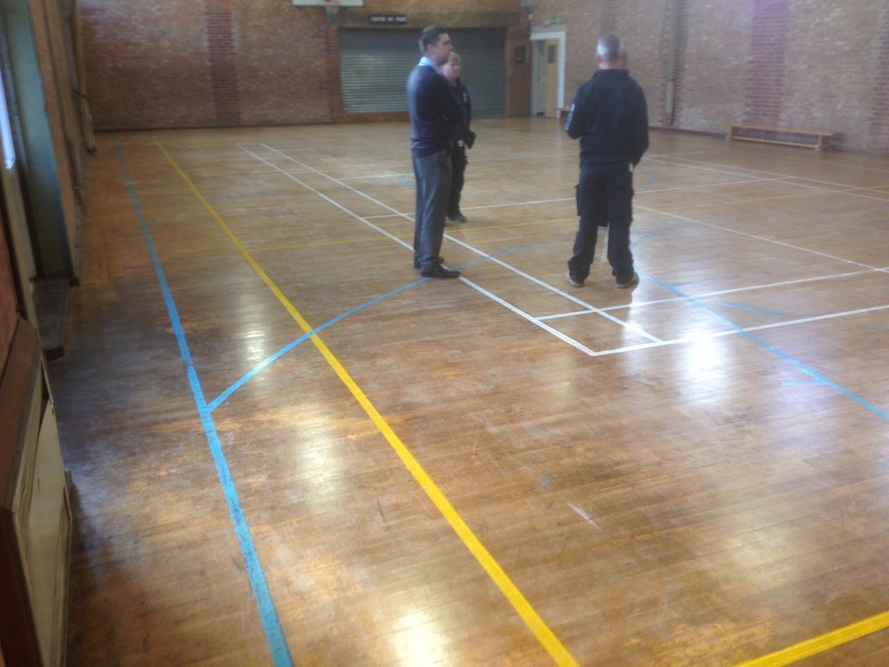 Wood Floor Campion School Royal Leamington Spa