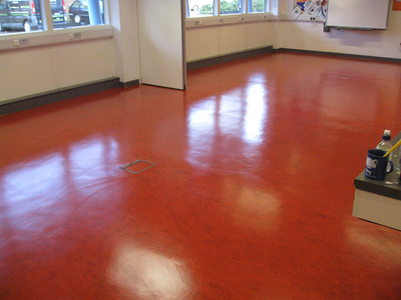 Linoleum Flooring Restoration Linoleum Floor Cleaning Polishing - Linoleum floor stain removal