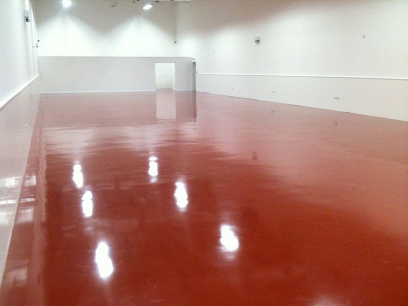 Deep Cleaning Epoxy Floor In Car Showroom London