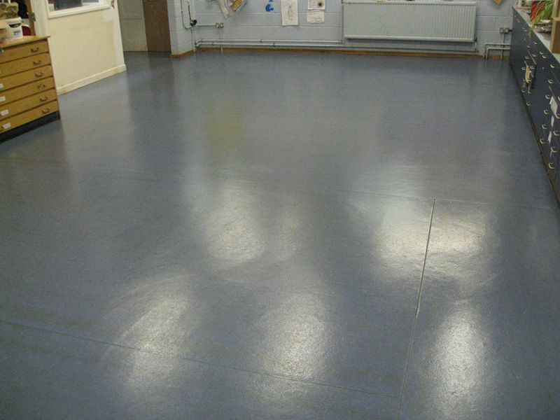 Altro vinyl deep cleaning at cardinal wiseman catholic school for How to deep clean concrete floors