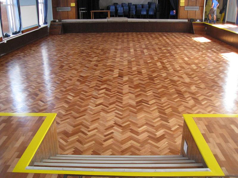 Blue Terrazzo Floor