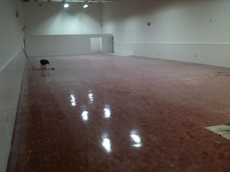 Deep Cleaning Epoxy Floor In Car Showroom London