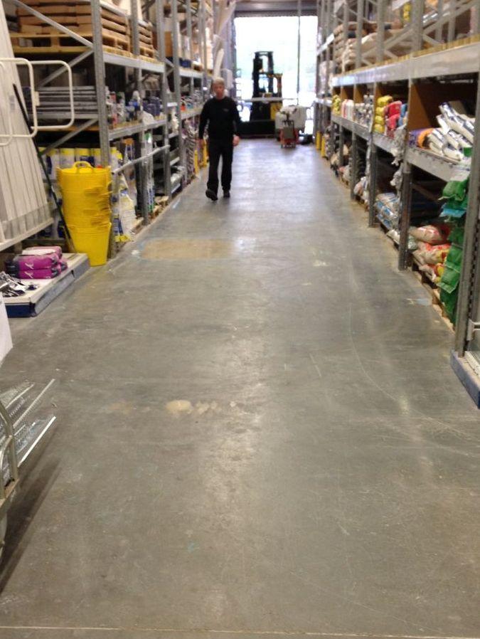 Wickes DIY, Oxford - Polished Concrete