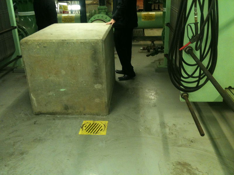Concrete Floor Cleaning Scottish Power