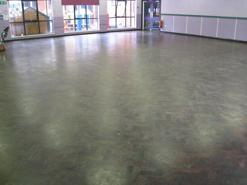 Finham Primary School Parquet Floor