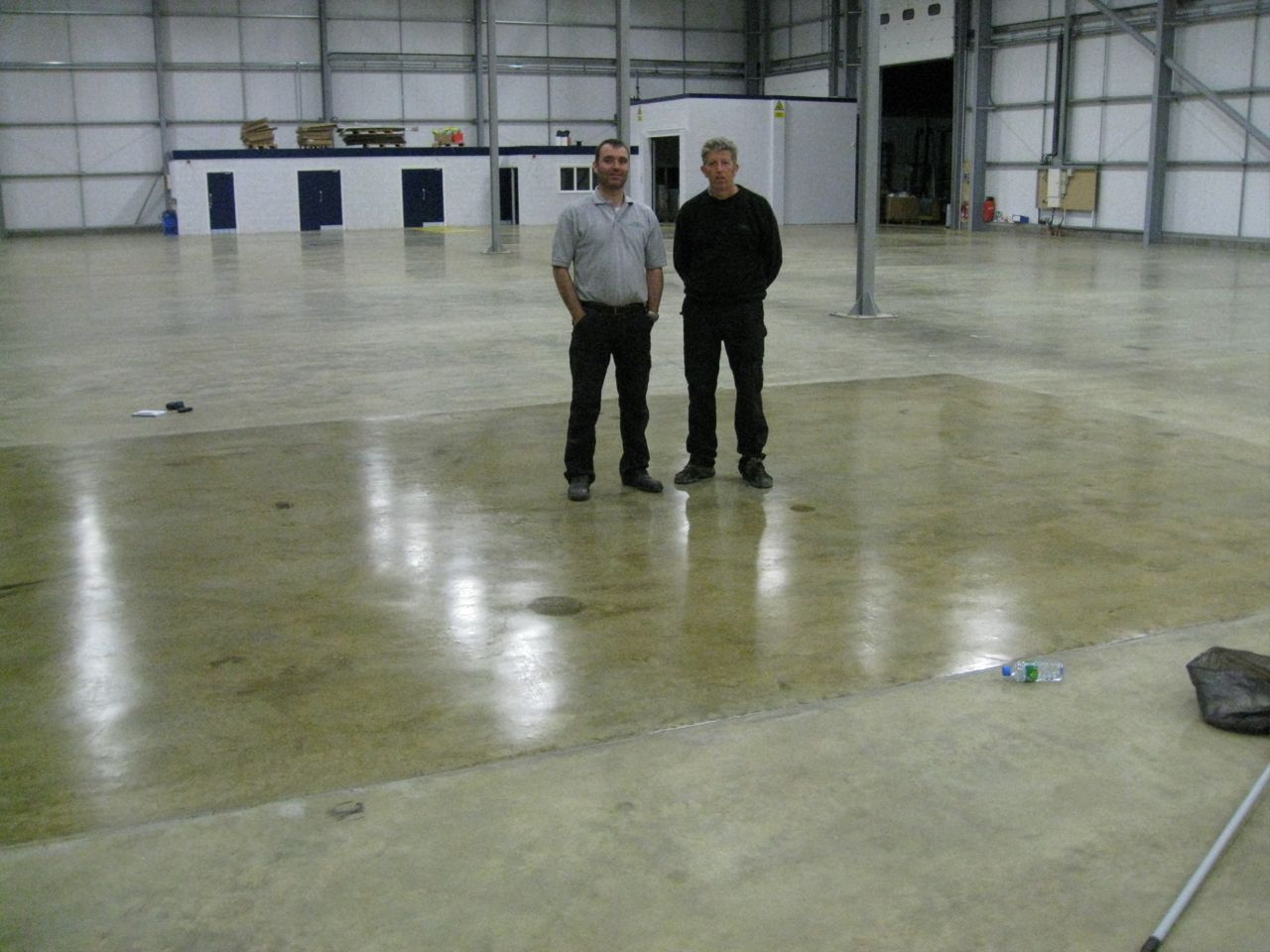 View next concrete floor case study for Commercial concrete cleaner