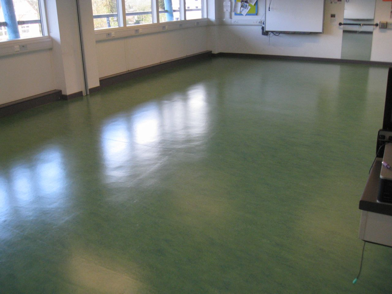 Unique Floorcare Products For Sale - Shiny lino flooring
